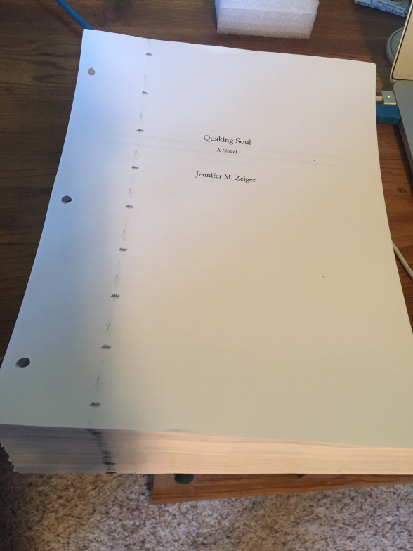 Quaking Soul Manuscript